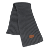 View Image 1 of 3 of Rib Knit Patch Scarf