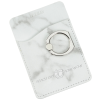 View Image 1 of 7 of Leeman Marble Smartphone Wallet with Ring Phone Stand