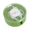 View Image 1 of 6 of Retractable Duo Charging Cable with Screen Cleaner