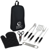 View Image 1 of 3 of 7-Piece Pit Master BBQ Set