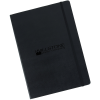 """View Image 1 of 4 of Moleskine Hard Cover Notebook - 11-3/4"""" x 8-1/2"""" - Ruled - 24 hr"""