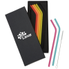 View Image 1 of 3 of Silicone Straw Set - 6 Pack