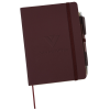 View Image 1 of 4 of Sonado Notebook with Pen - Debossed
