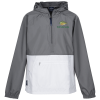View Image 1 of 5 of Pack-N-Go Colorblock Pullover