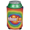 View Image 1 of 3 of Koozie® Chill Collapsible Can Kooler - Tie-Dye Bullseye