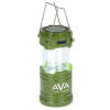 View Image 1 of 9 of Britton Pop Up COB Lantern with Wireless Power Bank