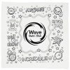 View Image 1 of 2 of Super Kid Color Me Bandana - Wow Words