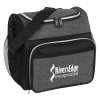 View Image 1 of 4 of Kota Heathered Lunch Cooler - 24 hr