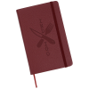 View Image 1 of 5 of Moleskine Leather Ruled Notebook