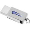 View Image 1 of 6 of Hayes Swivel USB-C Flash Drive - 8GB