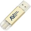 View Image 1 of 6 of Luna USB-C Flash Drive - 2GB