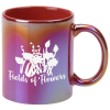 View the Vibrant Iridescent Coffee Mug - 11 oz.