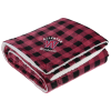 View Image 1 of 3 of Micro Mink Sherpa Blanket