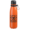 View Image 1 of 3 of Kingston Aluminum Swiggy Bottle with Carabiner - 20 oz.
