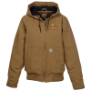 View Image 1 of 3 of Carhartt Washed Duck Active Jacket - Ladies'
