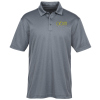 View Image 1 of 3 of Heathered Silk Touch Performance Polo - Men's