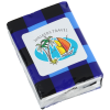 View Image 1 of 3 of Small Tissue Packet - Plaid