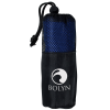 View Image 1 of 7 of Quick Dry Microfiber Cooling Towel with Elastic Loop