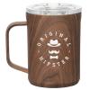 View Image 1 of 3 of Corkcicle Coffee Mug - 16 oz. - Wood