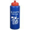 View Image 1 of 5 of Gripper Water Bottle - 32 oz.