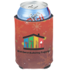 View Image 1 of 4 of Koozie® Holiday Can Kooler - Happy Holidays