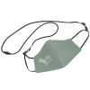 View Image 1 of 5 of Comfy 2-Ply Face Mask with Lanyard