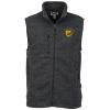View Image 1 of 3 of Sweater Knit Fleece Vest - Men's