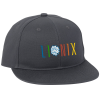 View Image 1 of 2 of Flat Bill Structured Snapback Cap