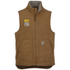 View Image 1 of 3 of Carhartt Washed Duck Sherpa Lined Vest