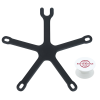 View Image 1 of 9 of PopSockets PopGrip with PopMount Flex