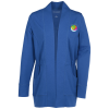 View Image 1 of 3 of Snag Resistant Microterry Cardigan - Ladies'