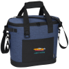 View Image 1 of 8 of Koozie Heathered 20-Can Tub Kooler Tote - Embroidered