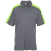 View Image 1 of 3 of Bi-Color Performance Polo - Men's