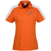 View Image 1 of 3 of Bi-Color Performance Polo - Ladies'