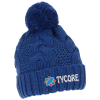 View Image 1 of 4 of Divergent Knit Pom Beanie