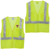 View Image 1 of 3 of Reflective Zippered Pocket Vest