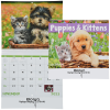 Puppies & Kittens Calendar - Spiral