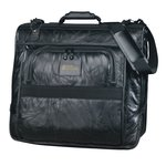 Leather Valet Garment Bag - Closeout