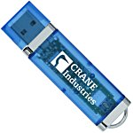 USB 2.0 Flash Drive - 1GB - Translucent