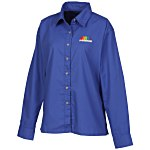 Blue Generation LS Poplin Shirt - Ladies'