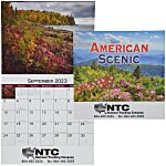 American Scenic Appointment Calendar - Stapled - 24 hr