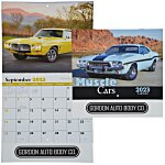 Muscle Cars Calendar - Stapled - 24 hr