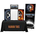 Show 'N' Write Tabletop Display - 6' - Full Color - Kit