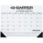 Desk Pad Calendar with Vinyl Corners