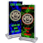Indoor/Outdoor Retractor Banner