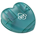 Keep-it Clip - Heart - Translucent - 24 hr