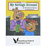 My Savings Account Coloring Book