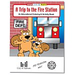 A Trip to the Fire Station Coloring Book