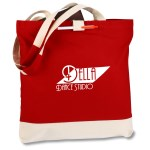 Contemporary Cotton Convention Tote - 24 hr