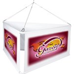 3-Sided Hanging Banner Display - 6'